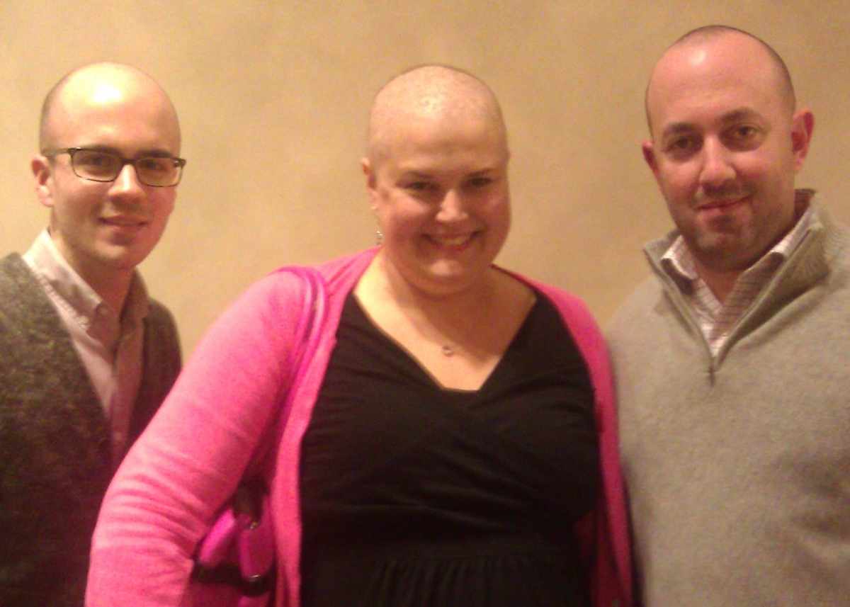 Three Bald PR Pros